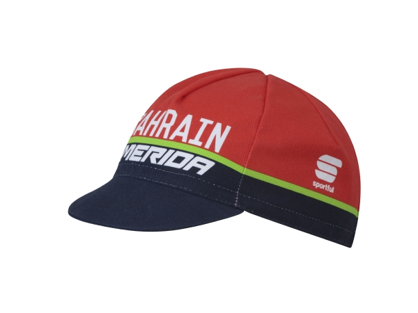 BAHRAIN BODYFIT PROCYCLING CAP RED/BLUE T.U.